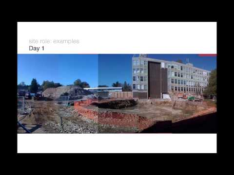 Oxford Brookes University Build Talk 11 (The Site Architect -- Rob Jackson)