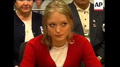 Alleged Dutroux victims Dardenne and Delhez in court