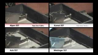 Alpen Carbides - Macor Cutting Test 2