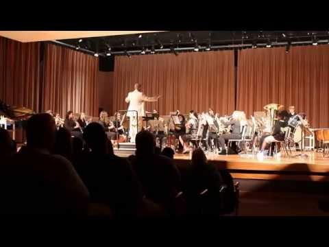 Rawlinson Road Middle School 8th Grade Band Spring Concert 2015