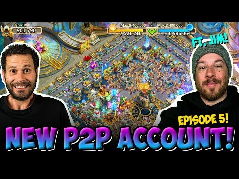 New Pay 2 Play: SHOCKING PROGRESS! Castle Clash