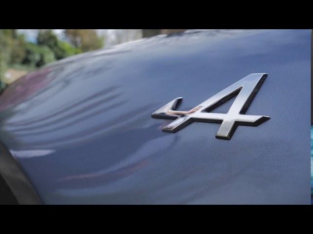 Test Alpine A110 - Test automobile