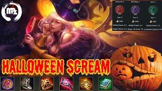 Lauriel Halloween Scream Skin - Arena of Valor Gameplay