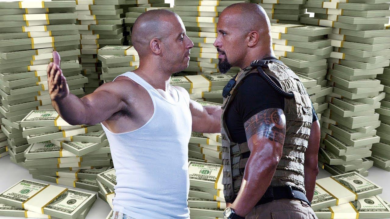 DWAYNE JOHNSON vs VIN DIESEL- The Rich life- Net Worth ...
