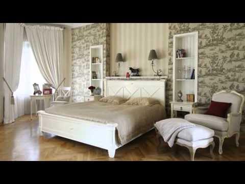 Выбираем обои для спальни с белой мебелью