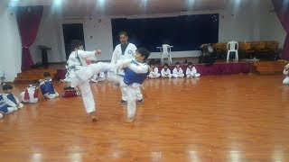 Teakwondo New Learning Kids Fight(Teakwondo & karate  Martial Arts    Club K.S.A) Part 2