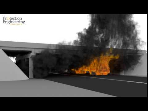 Analysis of Fuel Truck Fire under Highway Overpass