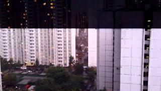 Смотреть видео Гроза в Москве 27.06.13 онлайн