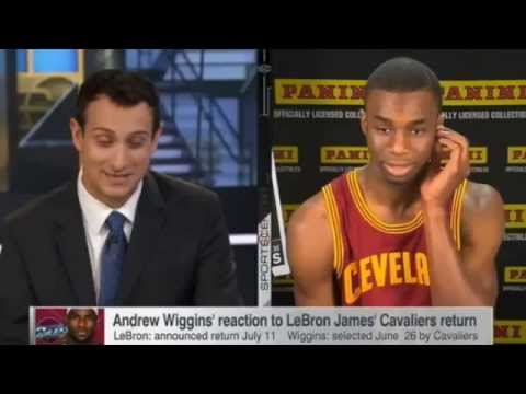 Andrew Wiggins Has Been Traded To The Minnesota Timberwolves For Kevin Love
