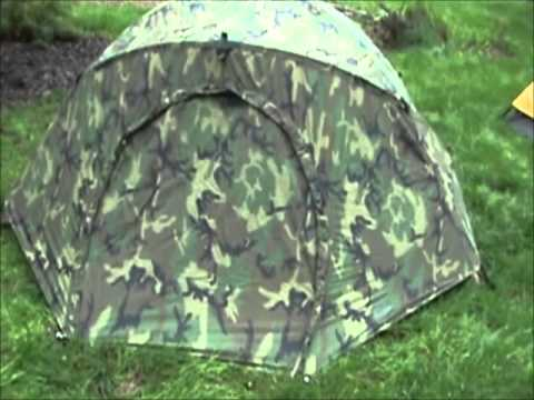 Diamond Brand Marine Combat Tent Same As Eureka Combat Tent & Diamond Brand Marine Combat Tent Same As Eureka Combat Tent - YouTube