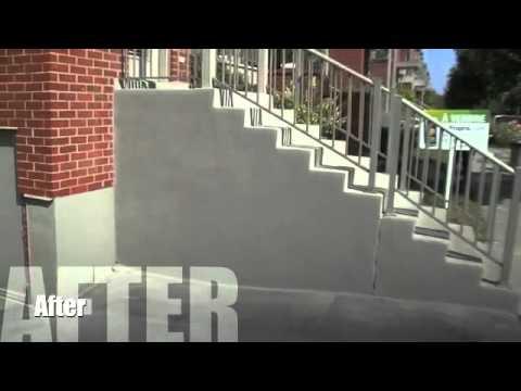 Monsieur Crepi Parging Concrete Finishing Youtube