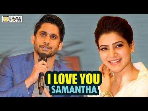 Naga Chaitanya Love Proposal To Samantha In Public || Unseen Video - Filmyfocus.com