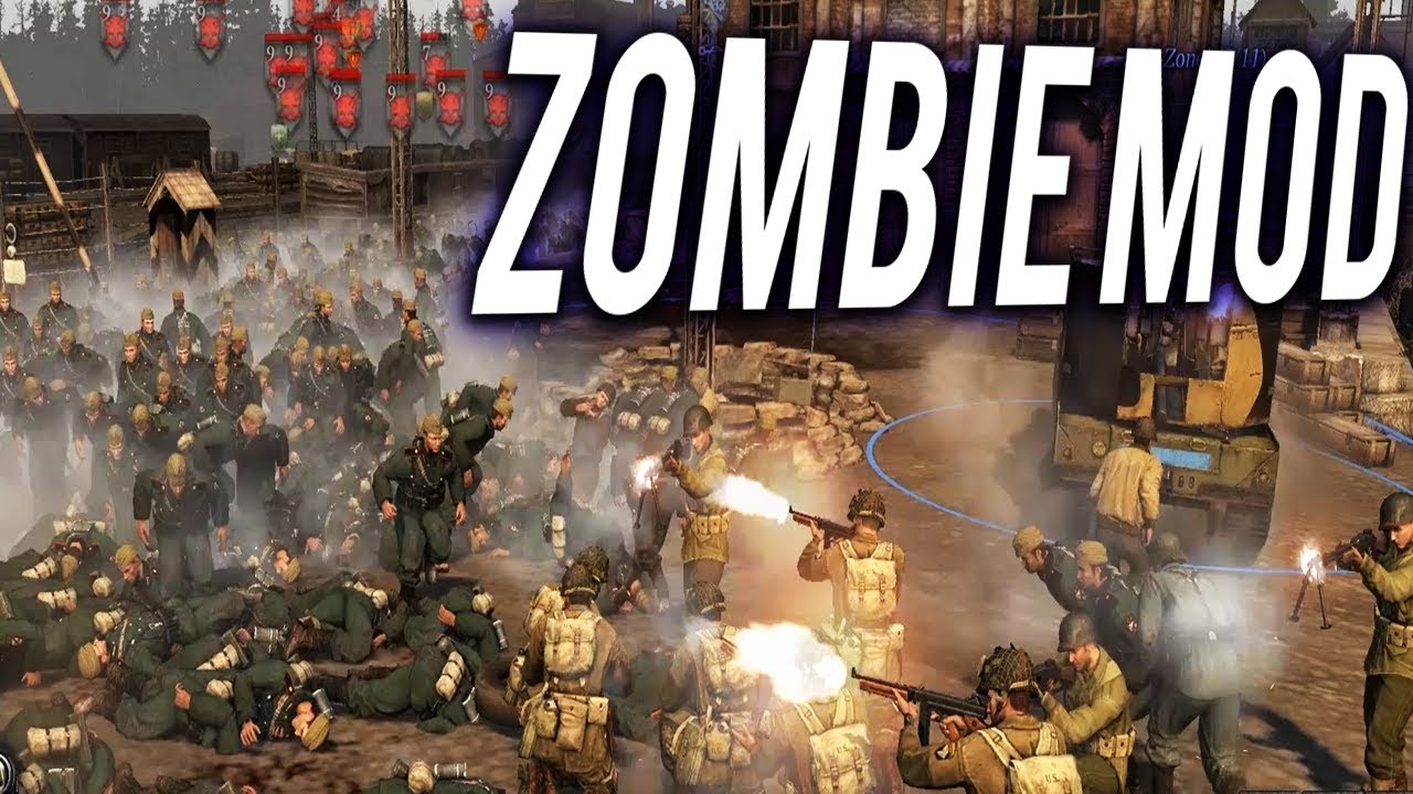 Fighting The Zombie Army Living Dead Mod Company Of Heroes 2