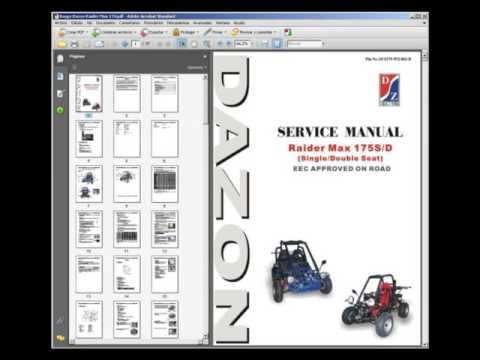 Dazon Raider Max 175 Buggy - Service Manual - Wiring Diagram on