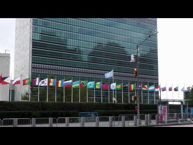 В Нью-Йорке в условиях повышенных мер безопасности из-за коронавируса проходит Генассамблея ООН.