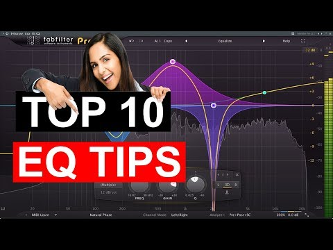 TOP 10 EQ Tips