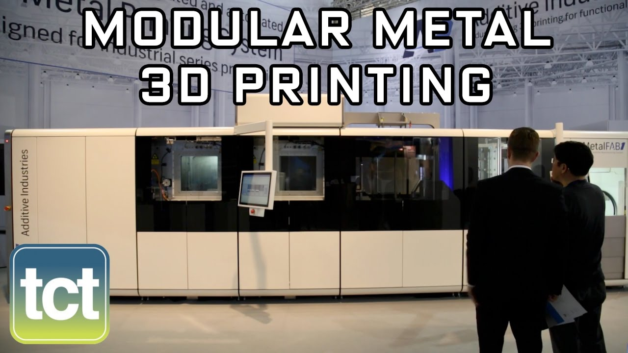 bfe8b5c6468 Additive Industries presents MetalFAB1 modular 3D printer - YouTube