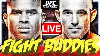 🔴UFC FIGHT NIGHT 149 OVEREEM VS OLEINIK + MAKHACHEV VS TSARUKYAN LIVE FIGHT REACTION!