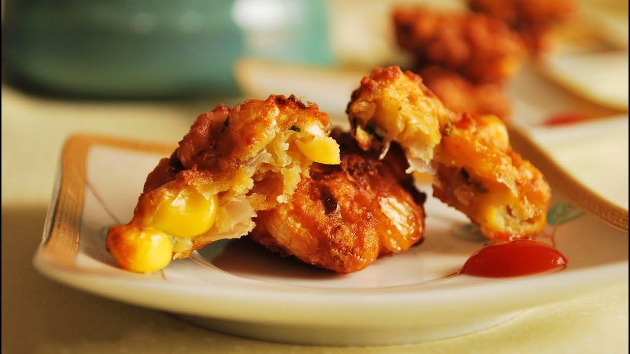 Image result for Corn Pakoda Recipe