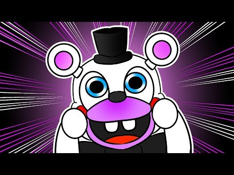 Minecraft Fnaf: Funtime Freddy Becomes Cute Toy Helpy (Minecraft Roleplay)