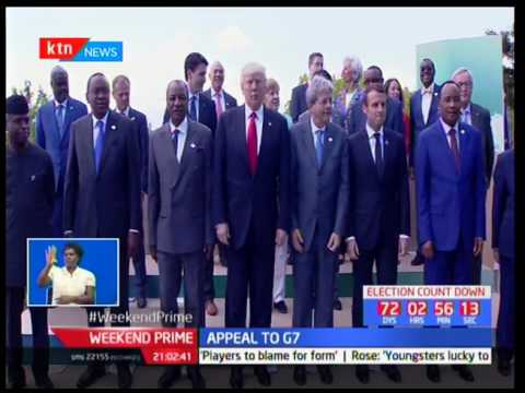 President Uhuru Kenyatta appeals to G7 leaders to enhance partnership with African countries