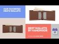 Best Wallets By Handmade Our Favorites Men's Wallets