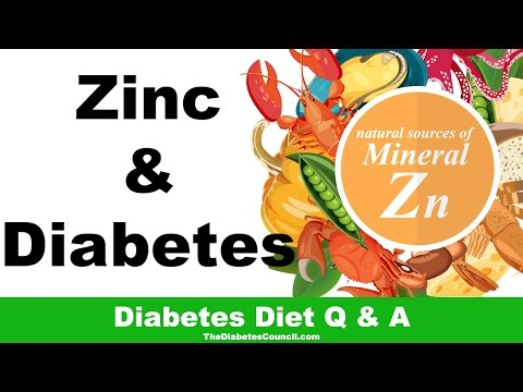 Is Zinc Good For Diabetes