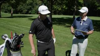 Jon Rahm and the TaylorMade TP5 Golf Ball