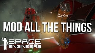 Ultimate Hard Core Survival? Mod Testing! - Space Engineers