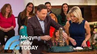 How To Enjoy Your Real Christmas Tree Without The Danger Of Fire | Megyn Kelly TODAY