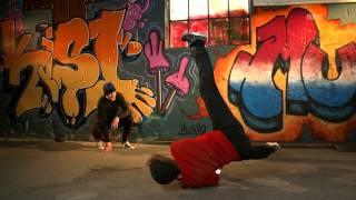 Breakdance - en windmill i sakte film