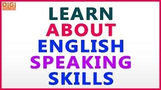 Learn About English Speaking Skills || Digi Teacher