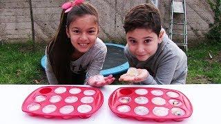 Video Buz Kırma Oyunu Donmuş Cupcake Challenge Minyonlar Vs Shopkins download MP3, 3GP, MP4, WEBM, AVI, FLV November 2017