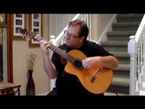 Fingerstyle Jazz- Bossa Nova- Corcovado(Quiet Nights) by Gilberto played by Eric Lesko