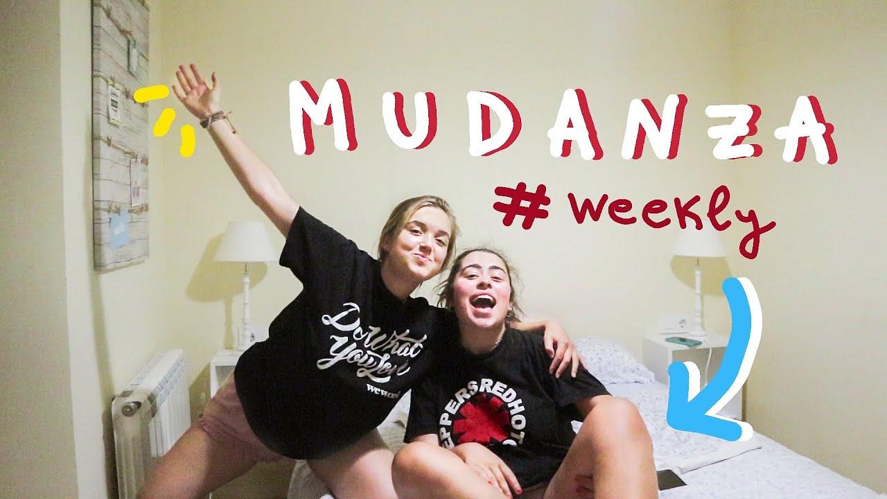 ÚLTIMA SEMANA VIVIENDO JUNTAS: la mudanza #weekly