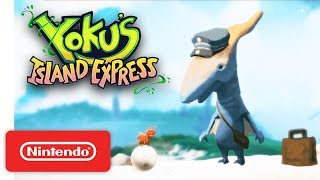 Yoku's Island Express Launch Trailer - Nintendo Switch