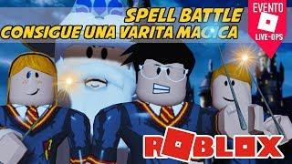 ROBLOX EVENT: SPELL BATTLE Wie man diese Zauberstab Zauber Schlacht spanisch Roblox