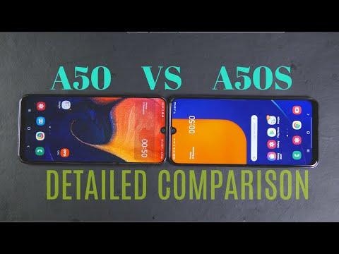 Galaxy A50 Vs A50s Detailed Comparison  Display,Camera,Fingerprint,Audio Comparison  Hindi 