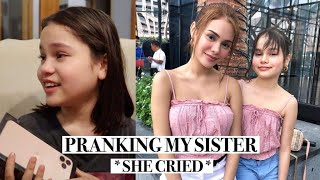 PRANKING MY SISTER + SURPRISING HER WITH AN IPHONE 11 PRO MAX! | IVANA ALAWI