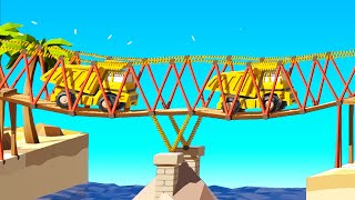 Building The Most Unstable Bridges Ever in Poly Bridge 2