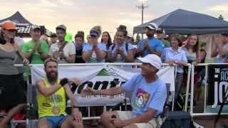 Rob Krar, 2015 Western States 100 Champion, Finish-Line Interview