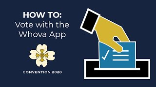 HOW TO: Vote with the Whova App