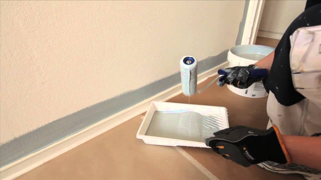 Inredning måla på gammal tapet : Clas-TV: MÃ¥la inomhus - Clas Ohlson - YouTube