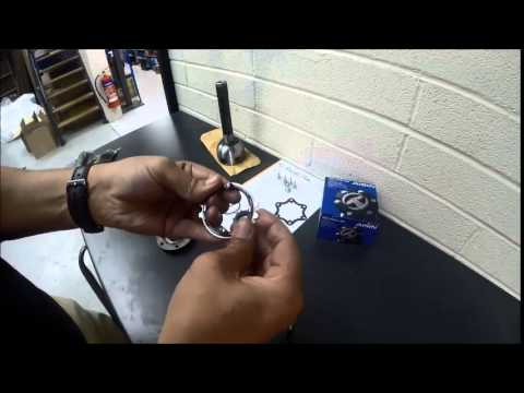Aisin Free Wheeling Hub Re-build by RoughTrax
