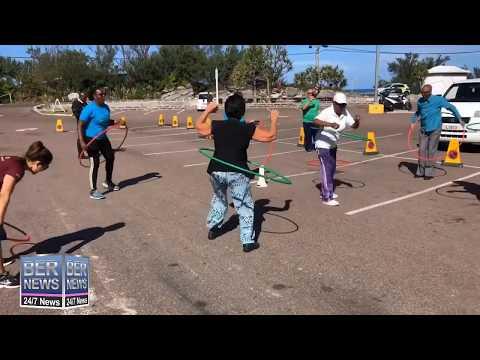 Community Hula Hoop In Shelly Bay, November 12 2019