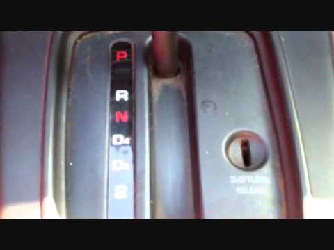 2002 Corvette Wiring Diagram Shifter Stuck In The Park Position Youtube