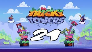 The FGN Crew Plays: Tricky Towers #21 - The Pressure (PC)