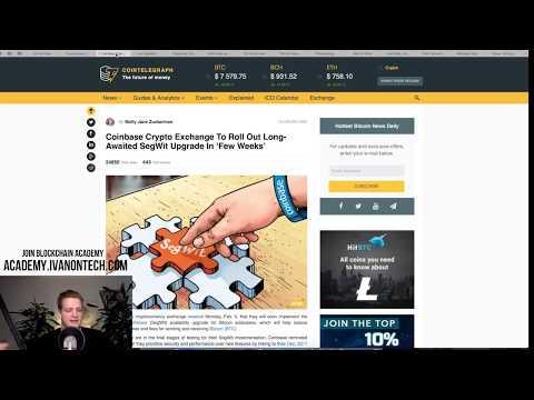 Bitcoin Crash Over? Segwit Coinbase, Tesla in Space! SEC, GitHub, Bitcoin Network stats