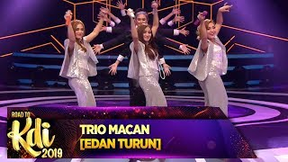 Gambar cover Heboh Abis! Penampilan Trio Macan [EDAN TURUN] - Road To KDI 2019 (3/7)