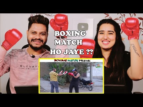 Indian Reaction On Boxing Match Prank ¦ By Nadir Ali In ¦ P4 Pakao ¦ 2019